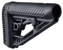 Adaptive Tactical EX Performance M4-Style Rifle Stock Polymer Black