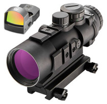 Burris AR-536 Combo WFastFire III 5x 36mm Illuminated Ballistic CQ Red/Green Black