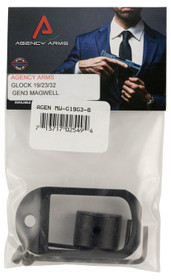 Agency Arms Magwell Compatible with Glock 19 Gen3 6061-T6 Alum