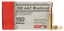 Aguila 300 AAC Blackout 150gr, Full Metal Jacket, 50rd Box