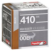 """Aguila Hunting 410 Ga, 2.5"""", Buckshot, 1/2oz, 00 Buck, 25rd/Box"""