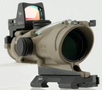 Trijicon ACOG 4x 32mm Obj 36.8 ft @ 100 yds FOV Tube Flat Dark Earth Il, 100554