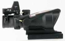Trijicon ACOG 4x32 with RMR Type 2 4x 32mm Obj 36.8 ft @ 100 yds FOV, 100550