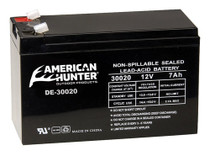 American Hunter DE1270DC 12V 7AH Rechargeable Battery