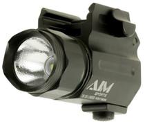 Aim Sports Compact Flashlight 330 Lumens CR123 (2) Black