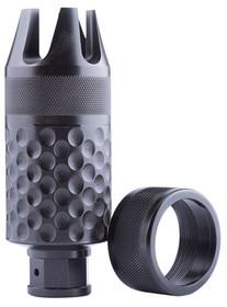 Spikes Barking Spider2 Krinkov Muzzle Brake 9mm Chromoly Steel Black