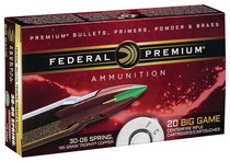 Federal Vital-Shok 270 Win 140gr, Bonded Tip BT, 20rd Box