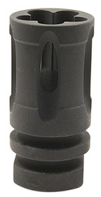 "Vltor Compensator 5.56mm 1/2"" x 28 TPI Closed Bottom Steel Black"