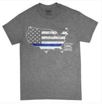 Glock Blue Line Shirt HT Grey 2XL