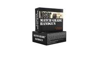 Nosler Match Grade 40 S&W 180gr, JHP, 20rd/Box