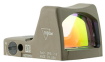Trijicon RMR LED Type 2 1x Obj Unlimited Eye Relief 3.25 MOA Flat Dark