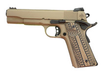 "Rock Island Armory Ultra 10 1911 10mm, 5"" Barrel, Flat Dark Earth Cerakote, G10 Grips, 8rd Mag"