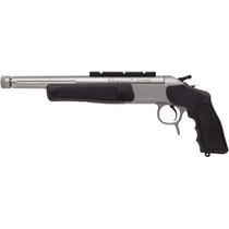 CVA Scout Pistol .300 AAC Blackout 11.5 Inch Stainless Steel Barrel DuraSight Z2 Scope Rail Stainless Steel/Black