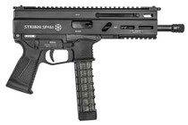 "Grand Power Stribog SP9A1 Gen2 Pistol 9mm 8"" Barrel,  Hardcoat Anodized, M-Lok Rail, 3x 30rd Mags"