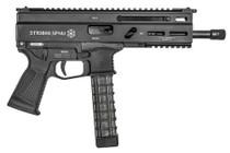 "Grand Power Stribog SP9A1 Gen2 Pistol 9mm, 8"" Barrel,  Hardcoat Anodized, M-Lok Rail, 3x30rd Mags"