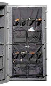 Winchester Safes Door Panel Organizer, 62x62, Black Pony 42/Tradition 42 Gray
