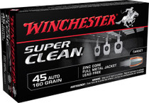 Winchester Super Clean 45 ACP, 165gr, FMJ, 50rd/Box