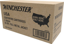 Winchester 5.56mm *VP* 55gr, FMJ, 1000rd/Case