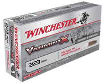 Winchester Varmint X 223 Rem/5.56 NATO 38gr, Lead-Free, 20rd Box