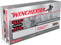 Winchester Super-X 308 Win/7.62 NATO 185gr, Hollow Point SubSonic, 20rd Box