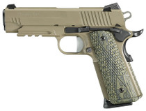 Sig 1911 Carry Scorpion 4.2 45 ACP Flat Dark Earth Night Sights