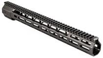 "Zev AR15 Wedge Lock Handguard Aluminum Black Hard Coat Anodized 16"""