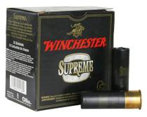 "Winchester Supreme Hi-Velocity Steel Shot 12 Ga, 3"", 1-1/4oz, 2 Shot, 25rd/Box"