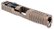 Zev Stripped Slide Glock 19, Gen1-3, Flat Dark Earth