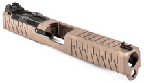Zev SOCOM Slide Kit Glock 17, Gen1-3, FDE