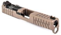 Zev SOCOM Slide Kit Glock 19, Gen4, Flat Dark Earth