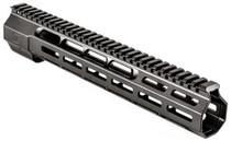 """Zev Large Frame 308 Rifle Wedge Lock Handguard Aluminum Black Hard, 12"""""""