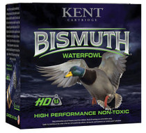 "Kent Bismuth Waterfowl 12 Ga, 3"", 2 Shot, 1 3/8oz, 25rd/Box"