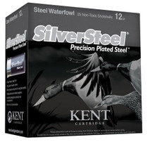 "Kent Silver Steel Precision 12 Ga, 3"", 1 1/4oz, #1 Shot, 250rd/Case"