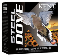 "Kent Steel Dove 20 Ga, 2.75"", 7/8oz, 6 Shot, 250rd/Case"