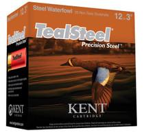 "Kent Teal Steel 12 Ga, 3"", 1.25oz, 6 Shot, 250rd Case"