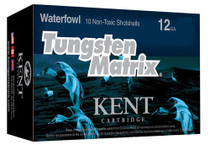 "Kent Tungsten Matrix 12 Ga, 2.75"", 1.25oz, 3 Shot, 10rd/Box"