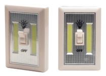 Cyclops Light Switch 200 Lumens AAA (3) White 2Pk