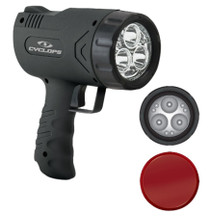 Cyclops Sirius 500 Handheld Light 500 Lumens 6 Volt Black
