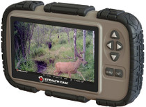 "Stealth Cam SD Memory Card Viewer 4.3"" LCD Tan/Black AAA (4)"