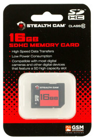 Stealth Cam STC-16GB SD Memory Card SD 16GB