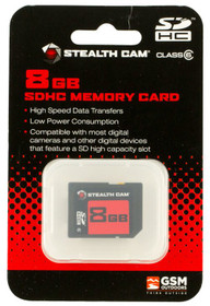 Stealth Cam STC-8GB SD Memory Card 8GB