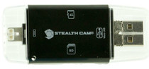 Stealth Cam STC-DDMCR Triple Connection Memory Card Reader