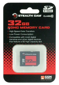 Stealth Cam SD Memory Card 32GB
