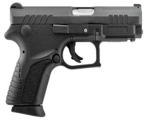 "Grand Power Q1S Double 9mm, 3.35"", Black Polymer Grip Black, 12rd"