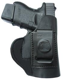 Tagua Super Soft Inside The Pant Glock 43 Saddle Leather Black