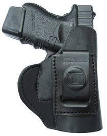 Tagua Super Soft Inside The Pant RH S&W J Frame Saddle Leather Black