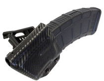 UM Tactical AK Mag Holder with Attachments Black Carbon Fiber