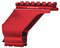 UM Tactical Sight Mount For Pistol Tactical Style Red Finish
