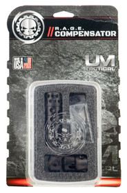 UM Tactical R.A.G.E. Compensator Compensator 9mm 1/2x28 tpi Metal Blac