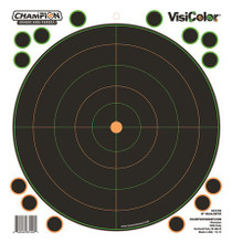 "Champion 8"" Bulls Eye 5 Pack, 40 Pasters"